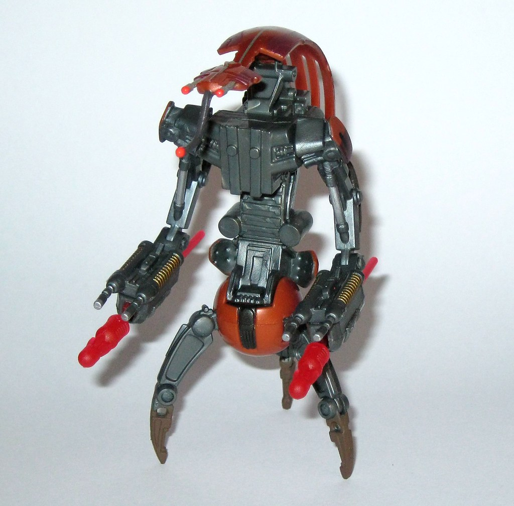 Destroyer Droid Firing Arm Blaster Star Wars Revenge Of Th Flickr