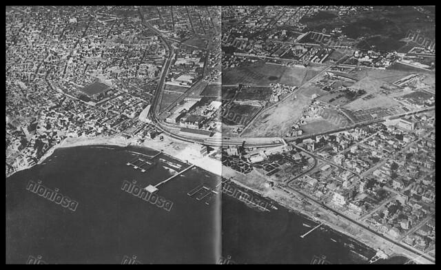 Αεροφωτογραφία του Νέου Φαλήρου. (Αρχείο ΗΣΑΠ)