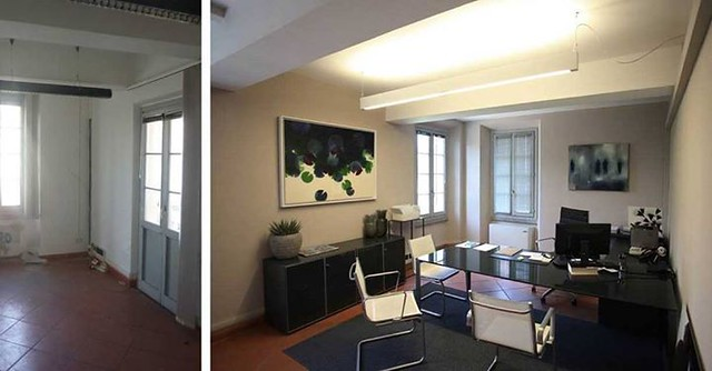 Before/after #architecture #renovation#office #offices #CCDP Www.ccdprog.com http://ift.tt/21d87Yc