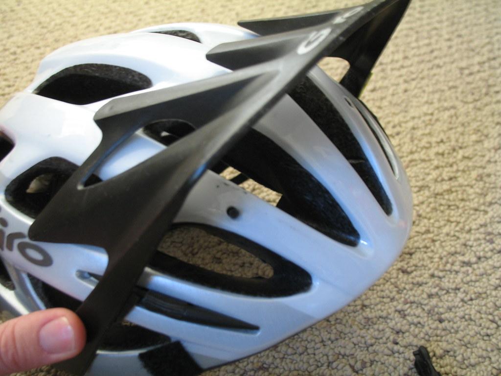 Problem: Broken visor tabs | The little plastic tabs holding… | Flickr