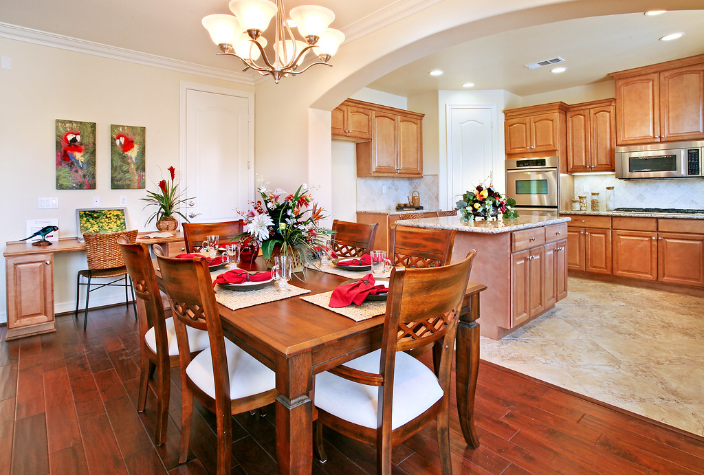 dining table kitchen photo