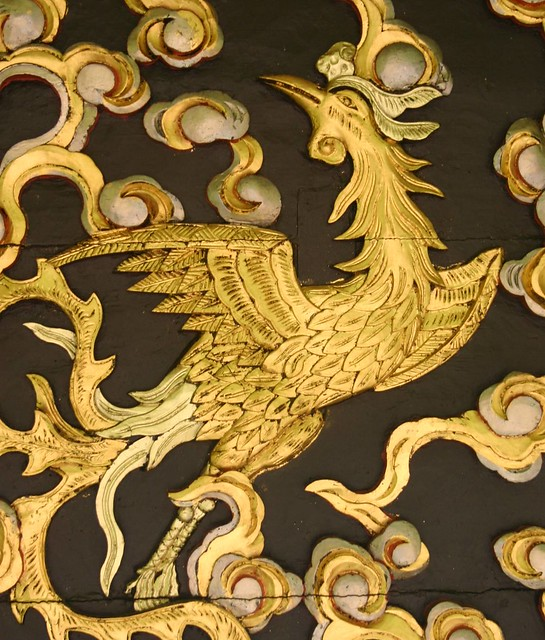 Decoration on the Chinese Pavilion, Brussels