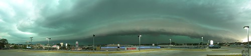 panorama storm landscape australia brisbane severeweather helluva gustfront
