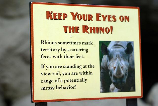 R Rhino Usage Warning Rhino warning |...
