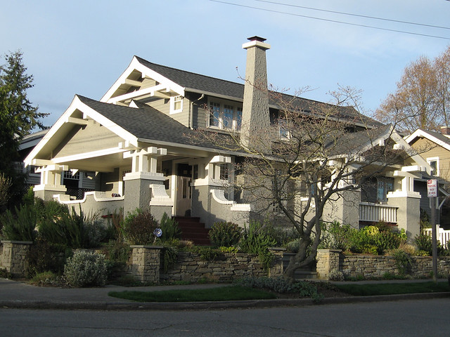 Craftsman House in Seattle