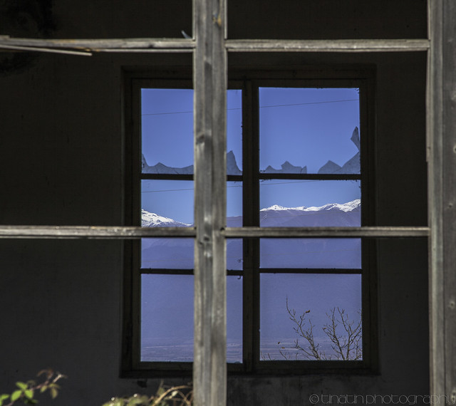 Glass mountain tops