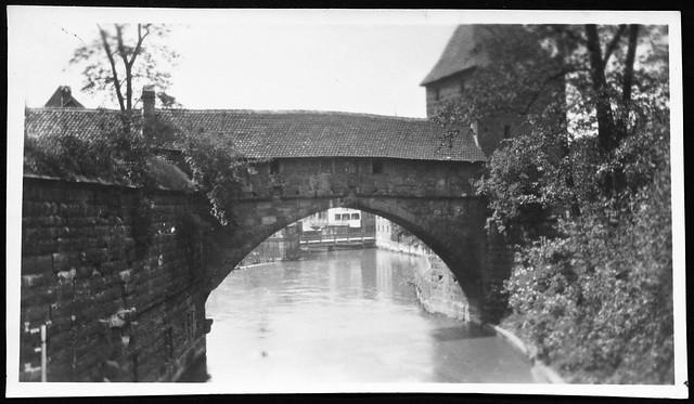 Archiv D037 Mittelalterlicher Flussübergang, 1930er