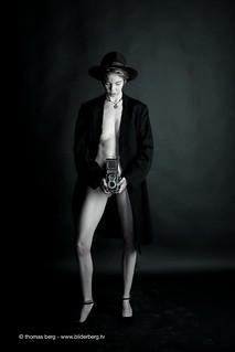 Rolleiflex mit frau   by Thomas Berg Fotografie