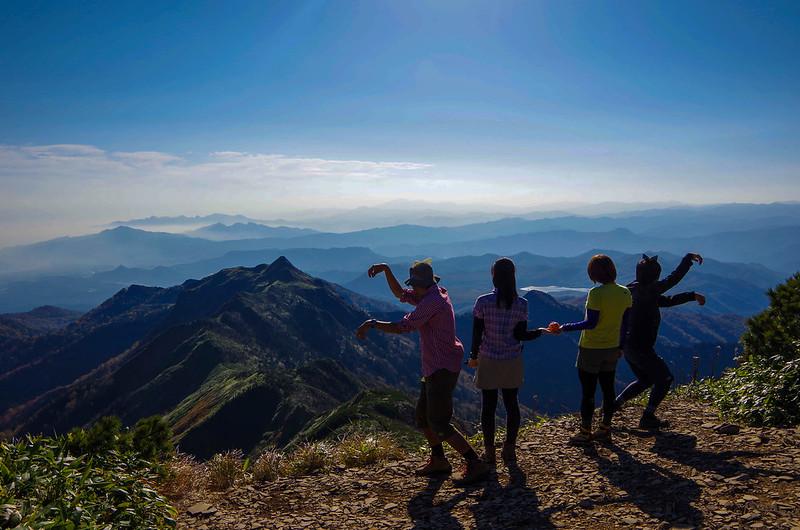 武尊山の集合写真