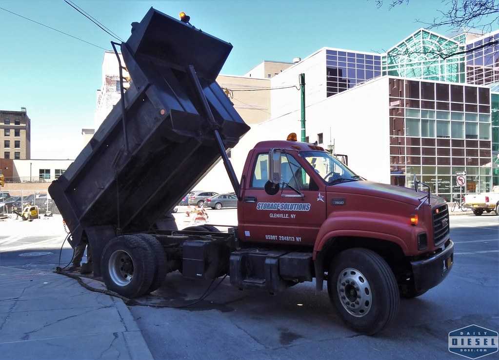 GMC 7500 Dump Truck | www dailydieseldose com for more