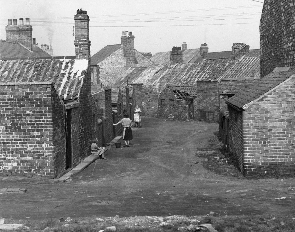 Life on the Brickgarth housing estate, Easington Lane