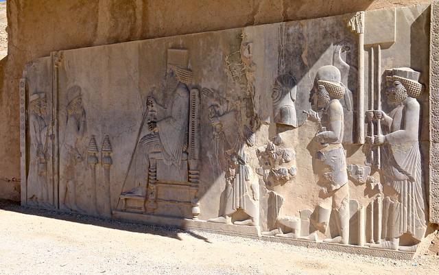 Relief, Persepolis, Marvdasht, Fars Province, Iran
