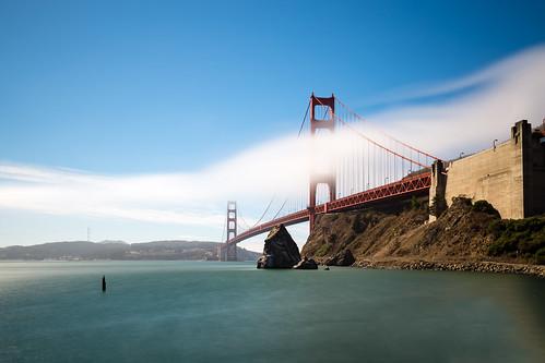 sanfrancisco california travel bridge usa cloud fog america canon us baker unitedstates fort ngc goldengatebridge vista sausalito 6d 1635mm