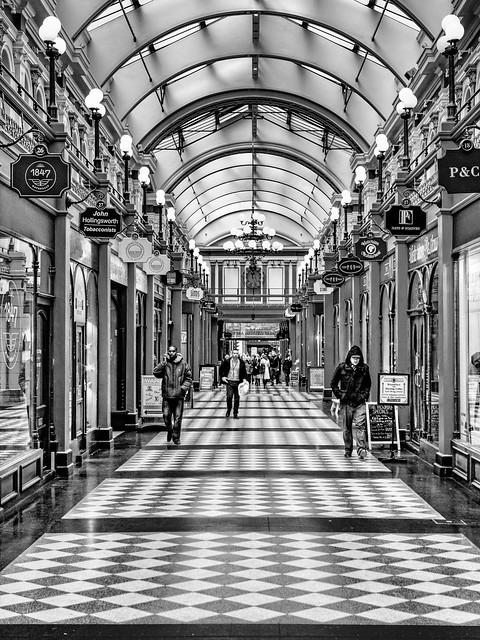 A British Mall.