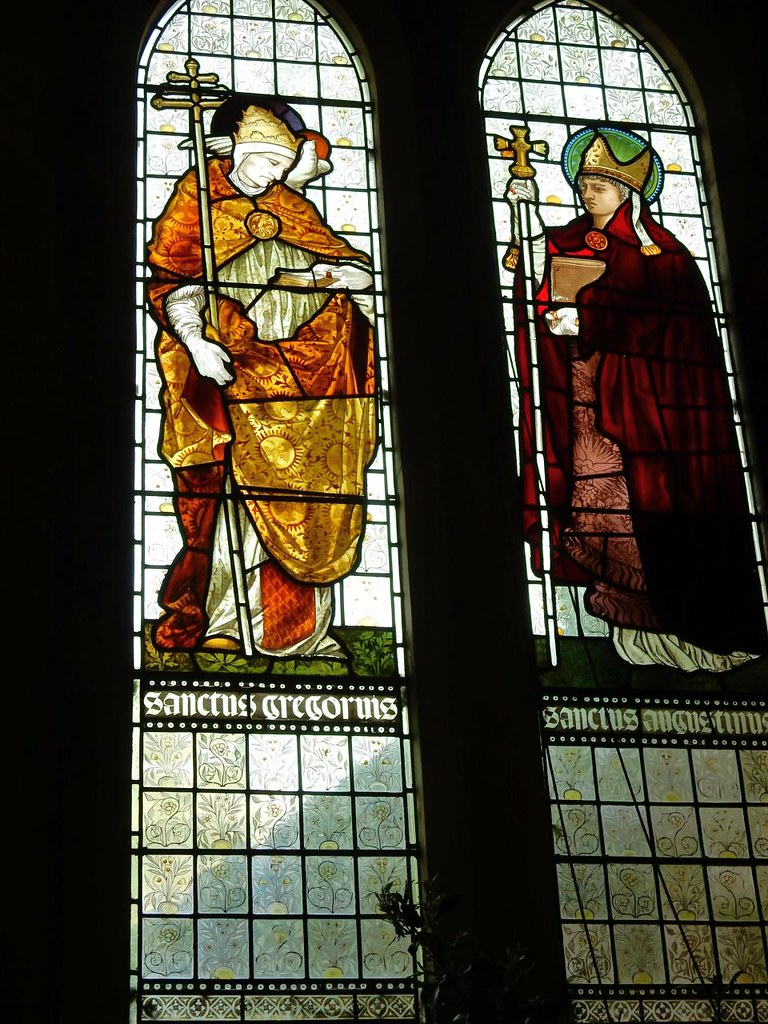 Pre-Raphaelite Saints Ashurst to Eridge St Mary's church, Speldhurst