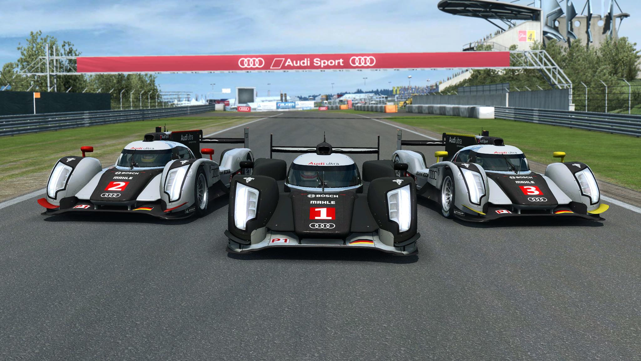 RaceRoom  Audi R18 TDI