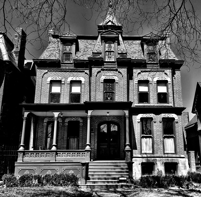 Old Timer, West Canfield HIstoric District, Detroit