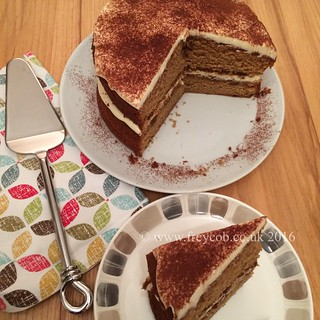 Tiramisu coffee cake | by Freycob.co.uk