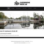 Hemsida Jakobssons Smide