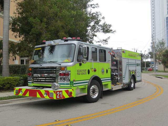 Miami-Dade Fire/Rescue Engine 21