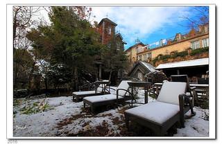 清境雪景民宿角落  藍大衛  Flickr
