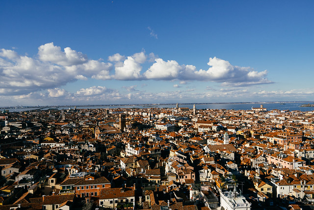 ON TOP OF SAN MARCO CAMPANILE