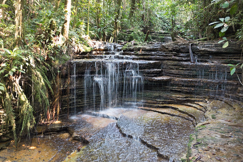 landscape waterfall ecuador tropical amazonas jugle
