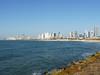 Výhled z Jaffy na pobřeží Tel Avivu, foto: Petr Nejedlý
