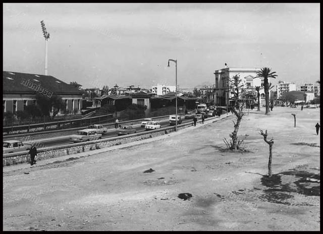 Ο σταθμός Νέου Φαλήρου το 1974.