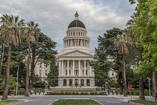 California State Capitol from Capitol Mall - Sacramento | by Tony Webster