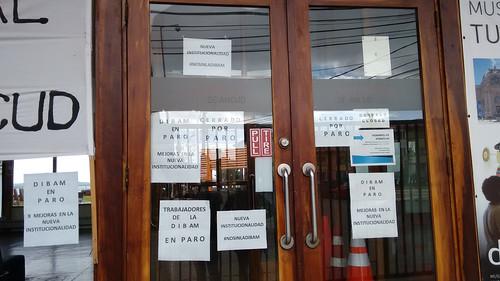 Museo Regional de Ancud Closed for Strike | by blueskylimit