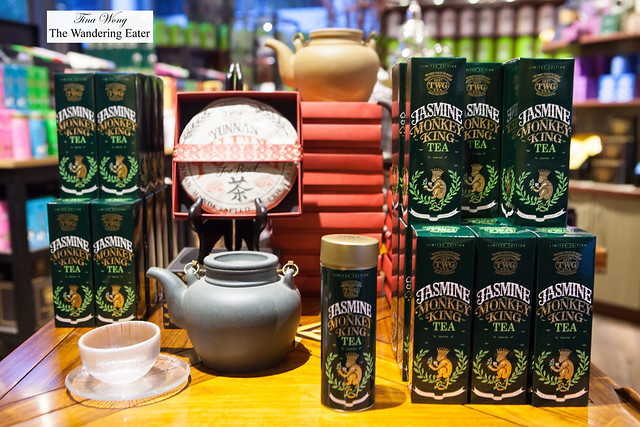 Yunnan Pur'eh and Jasmin Monkey King Teas for Chinese New Year