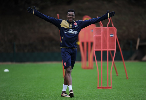 Danny Welbeck of Arsenal