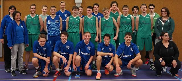 Oefenwedstrijd Heren 1 vs Twente-Buzzards U20