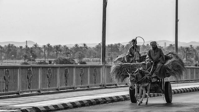 crossing Nile River