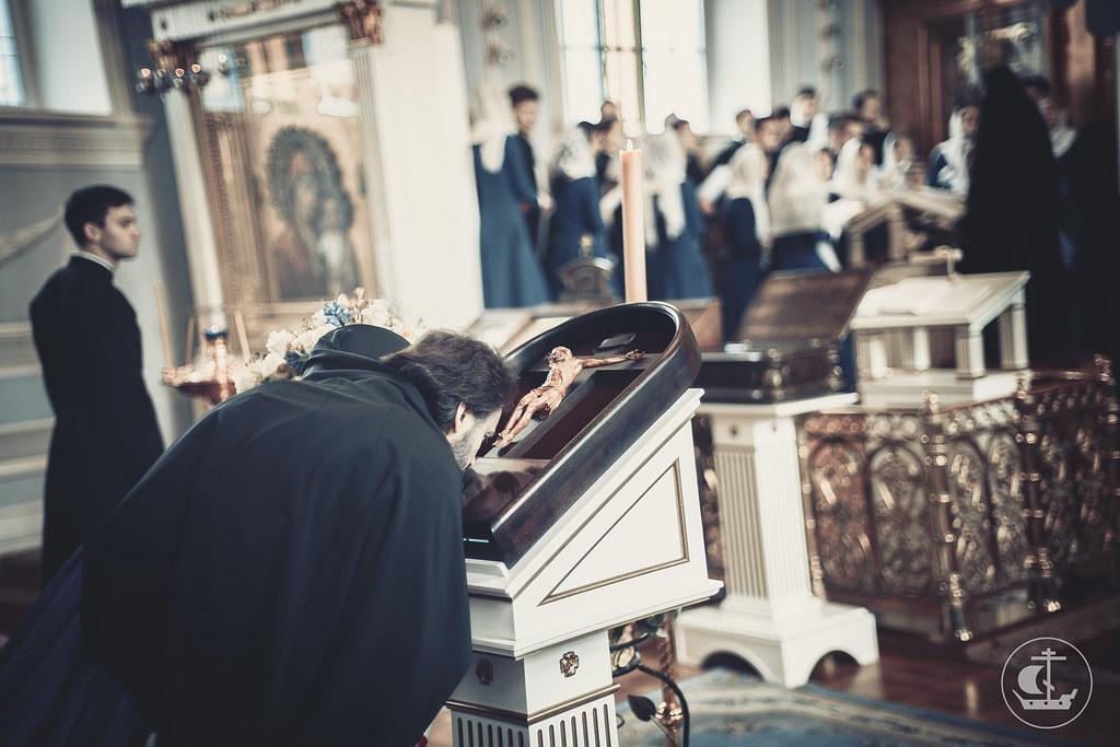 7 апреля 2016, Благовещение Пресвятой Богородицы / 7 April 2016, The Annunciation of the Theotokos