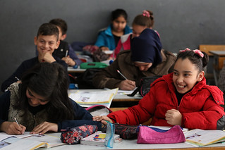 Students at the Second Bourj Hammoud Public School | by World Bank Photo Collection