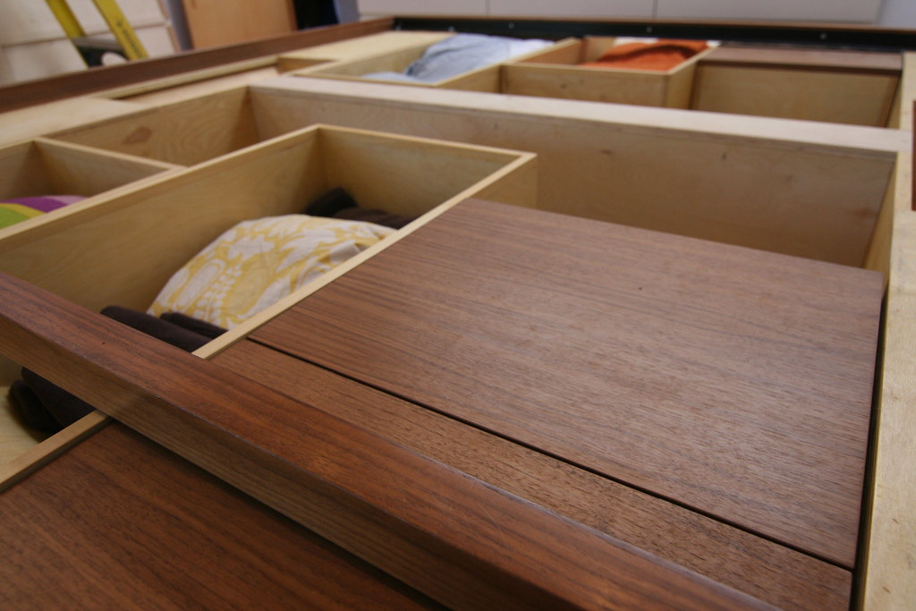 Retractable Storage Drawers