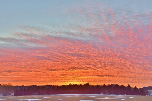 sunset prairie winter snow silhouette clouds illinois stevelamb nikon d7200 nikkor18200mm nature colorful waconda
