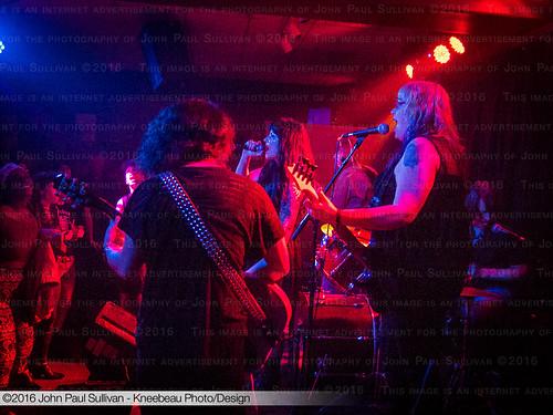 The Revulvas Performing at Casa Cantina Girls Rock Camp Benefit | by John P Sullivan