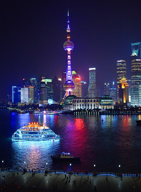 Shanghai - Pearl Tower & Tour Boat