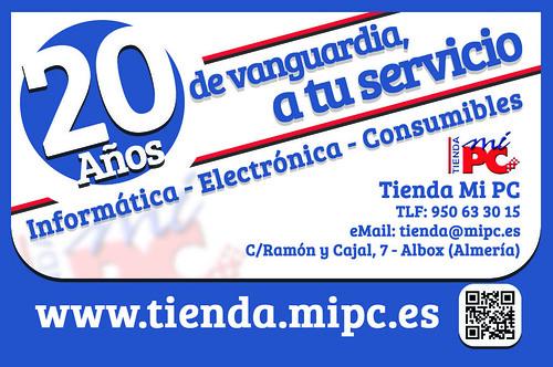 Tarjeta Visita - Tienda MiPC | by alvaro_perez19