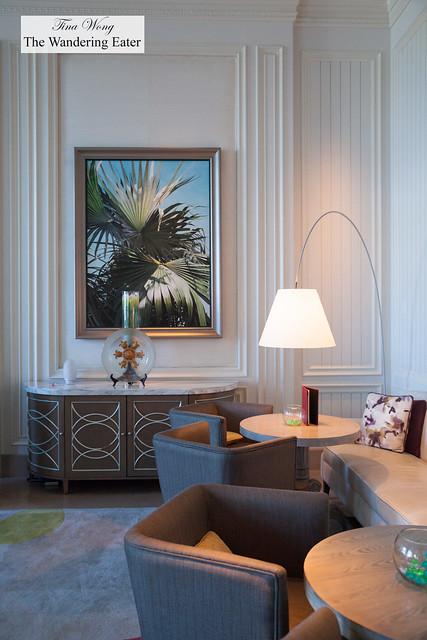 Interior of Silver Palm
