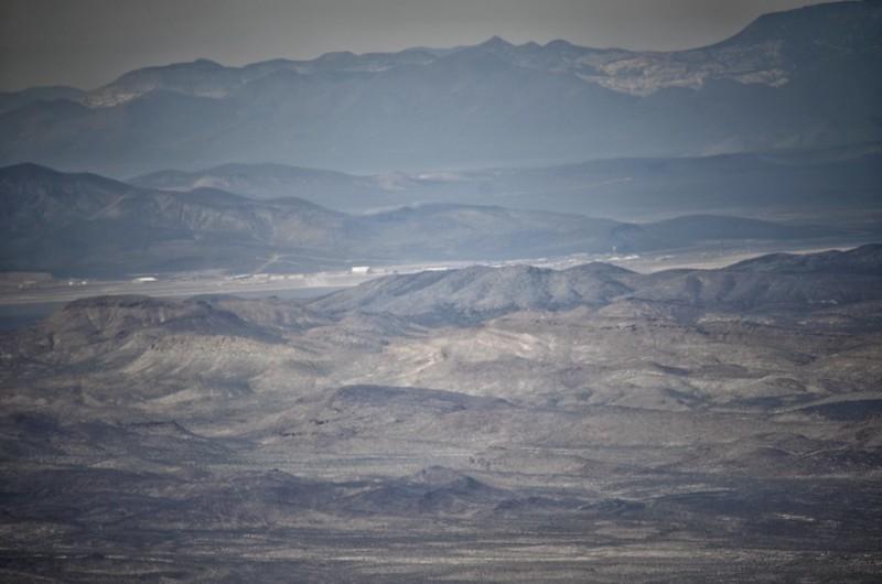 Area 51 desde Tikaboo Peak
