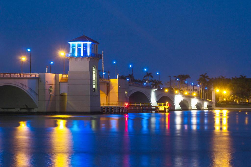 Flagler Memorial Bridge, West Palm Beach, FL