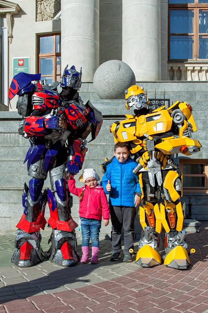 Tima, Amira and Transformers
