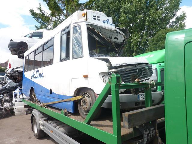 R651 YCR (Ex A Line Coaches)