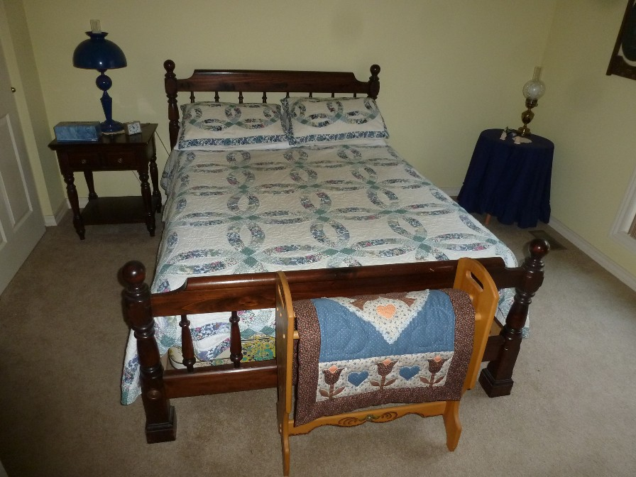 Ethan Allen dark pine bedroom set   thornhill3   Flickr