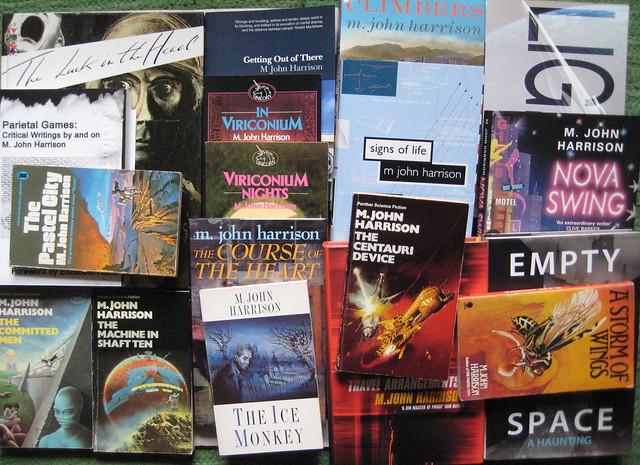 M. John Harrison - Books!