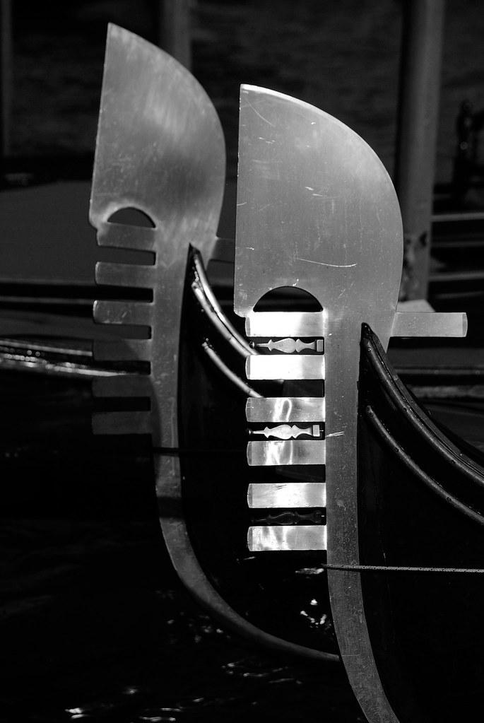 Ferro Di Gondola.Ferro Di Prua Gondola Veneziana Meris Brugnoli Flickr